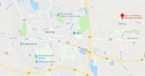 Clann på google maps